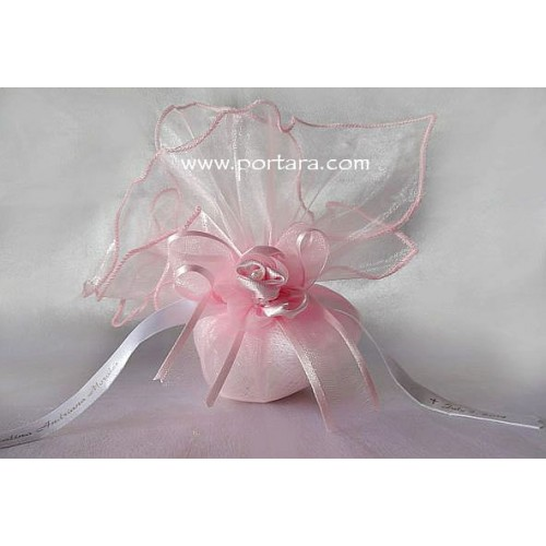 Organdy Beauty Bomboniere Favor Idea