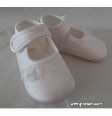 Pretty Girl Christening Shoes