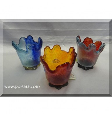 Handmade Fused Glass Art Pieces