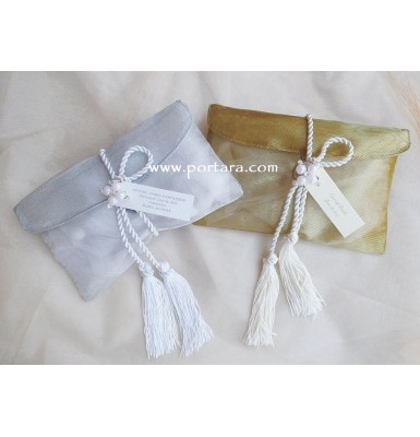 Exclusive Silver or Gold Envelopes ~ Wedding or Bridal Showr Favors ~ Bobouneres