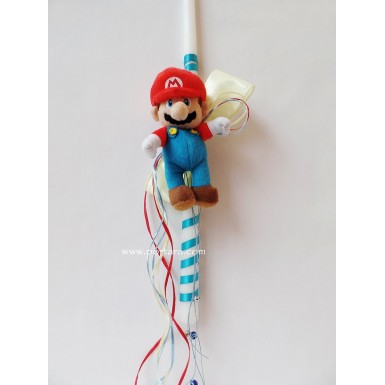 Super Mario Bros Easter Candle ~ Labatha
