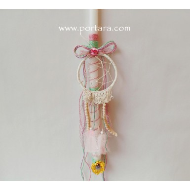 The Little Girl Dream Catcher Easter Candle ~ Labatha