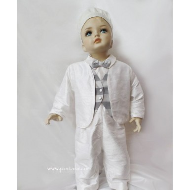 Alexandros Christening Baptism Outfit