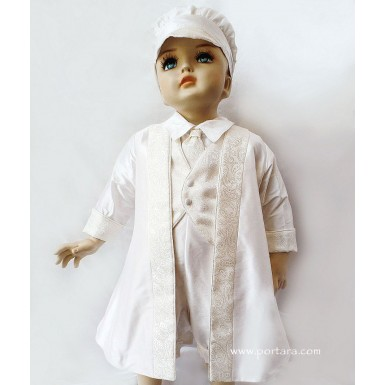 Nicolas Luxurious Christening Baptism Outfit