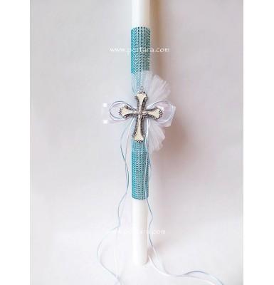 Lovely Baptism Christening Candle ~ Unisex