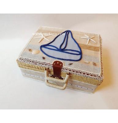 The Little Sailor Christening Keepsake Box