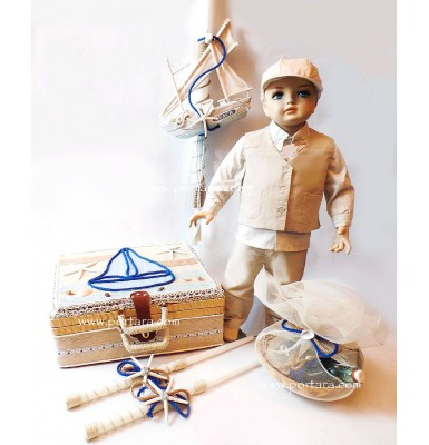 The Little Sailor Christening Package Set
