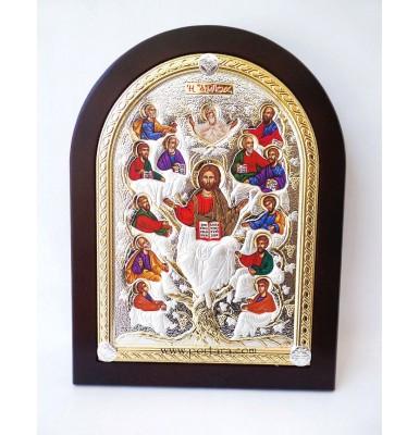 Ambelos  Jesus Christ and 12 Apostles