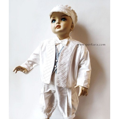 Victor Christening Baptism Outfit