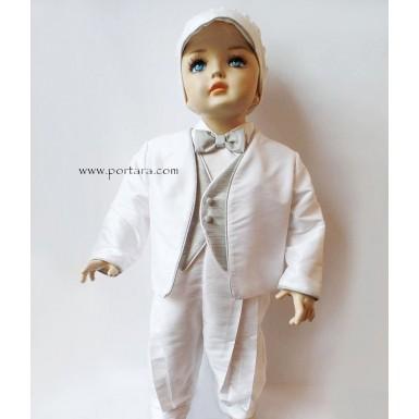 Trevor Christening Baptism Outfit