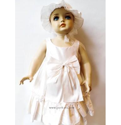 Paula Ruffles and Bows Christening Dress