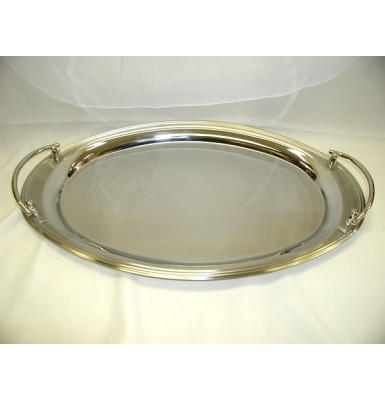 Simple Oval Wedding Tray with Handles