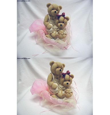 Teddy Bears Centerpieces Decorated