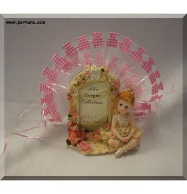 Adorable Ballerina Picture Frame Favor Gift Idea