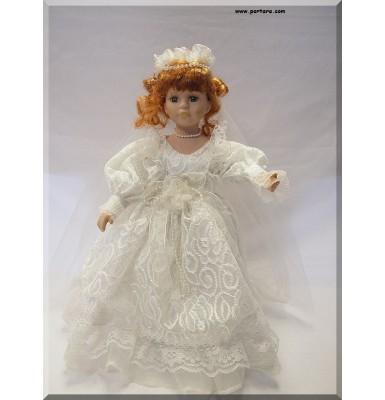Lovely Porcelain Bridal Doll