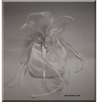 Amazing Silky White Beauty Bomboniere Gift Favor