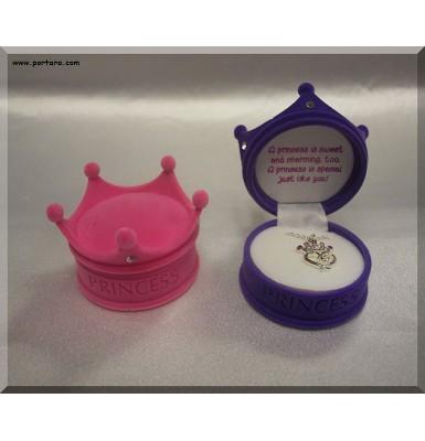 Amazing Princess Pendant Inside Velour Keepsake Box