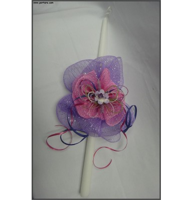 Butterfly with Beads Easter Candle ~ Lambatha