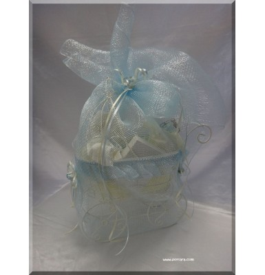 Goodwishes Unisex Baptismal Basket