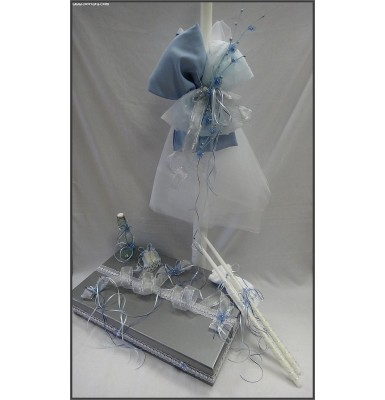Adorable Silver Beauty Christening Baptism Set