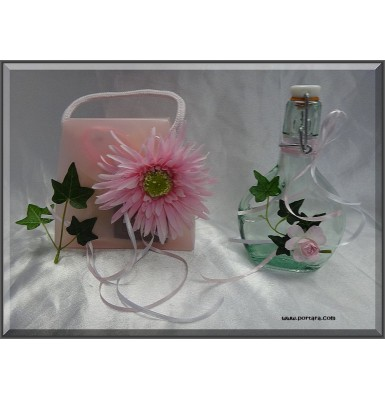 Lovely Pink Beauty Baptism Oil Basket