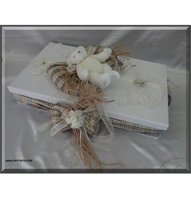 Gorgeous Cafe Timeless Fashion Baptism Box - Unisex