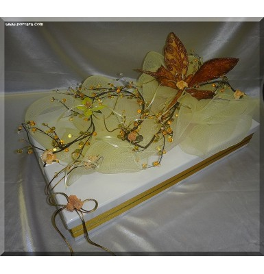 Butterfly Christening Baptism Box