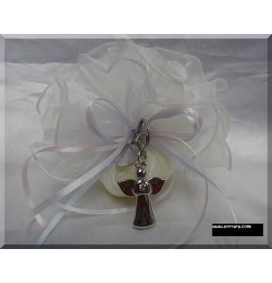 Angel Keychain Bomboniere Baptism Favor