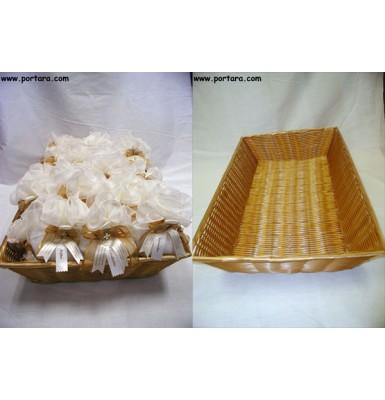 Bomboniere Basket Honey Color