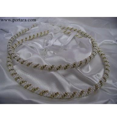 Golden Fantasy Wedding Crowns ~ Stephana