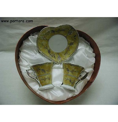 Gold Decor Olive Two Cup Set Gift Favor
