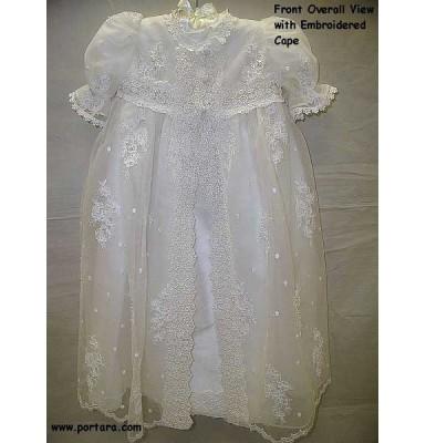 Antigone ~ A Simple Christening Baptism Dress