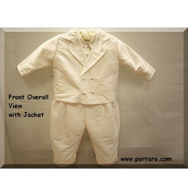 Anthony Silk Christening Baptism Outfit