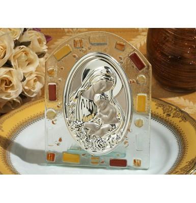 Murano Hanging Icon Baptism Christening Favor ~ Unisex