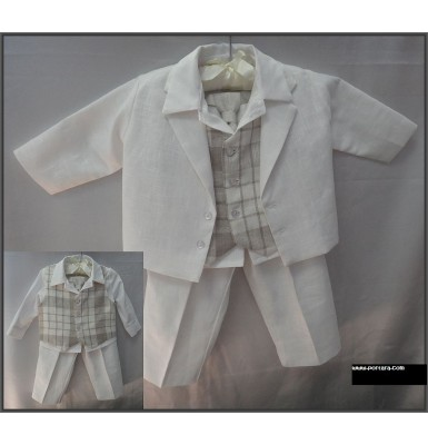 Adonis Christening Baptism Outfit Suit