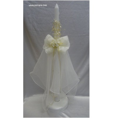 Amazing Orthodox Wedding Ceremony Candles ~ Lambathes