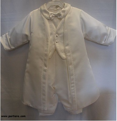 Chase Christening Baptism Outfit