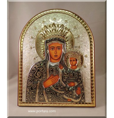 Russian Orthodox Virgin Marry with Jesus ~ Russian Orthodox Icon