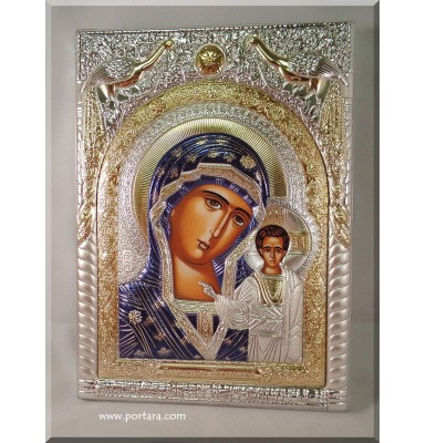 Our Lady of Kazan Russian Orthodox Icon