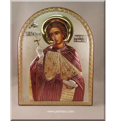 Saint John the Russian ~ Greek Orthidox Icon