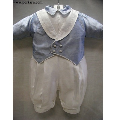 Mario Christening Baptism Outfit