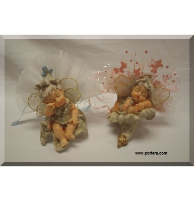 Cute Babies in Fairy Land Gift Favor Idea