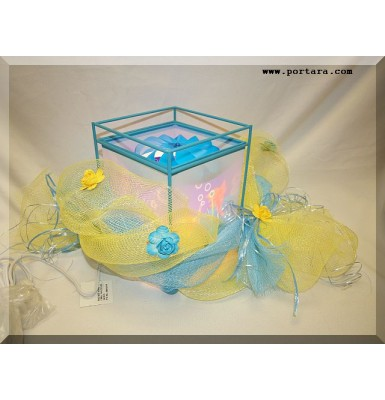 Amazing Magic Table Lamp with Under The Sea Fish Design Gift Centerpiece