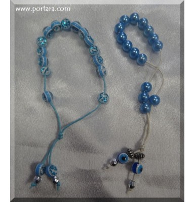 Light Blue Bracelets Martirika Witness Pins
