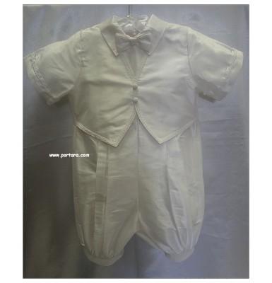 Demetri Silk Christening Baptism Outfit