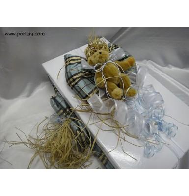 Aristocratic Baby Blue Dream Baptism Box