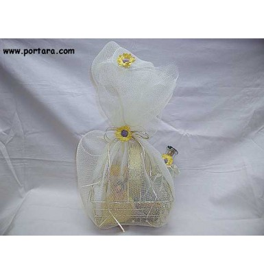 Elios-Sunflower Oil Baptism Basket