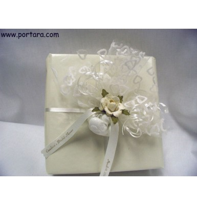 Ivory Beauty Wrapping Idea