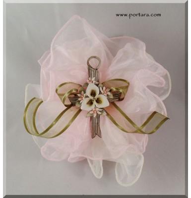 Arte Porcelain Girls Cross Favor Gift Idea