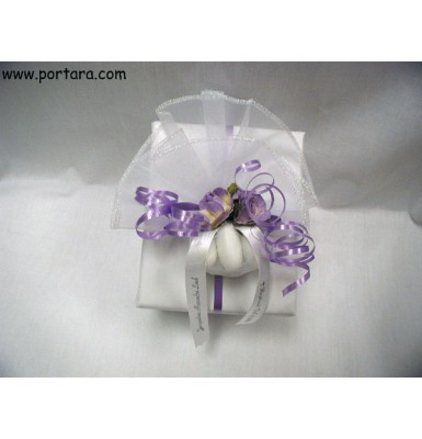 Lavender Beauty Wrapping Idea
